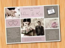 Ausgefallene Einladungskarten Einladungen Hochzeit 48 - Bild vergrößern