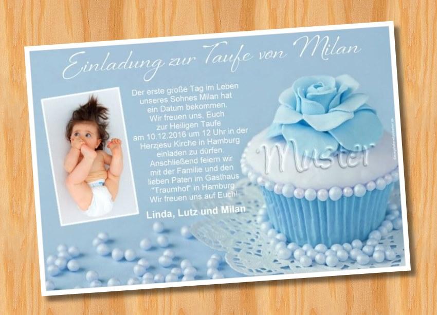 Einladungskarten Taufe 2
