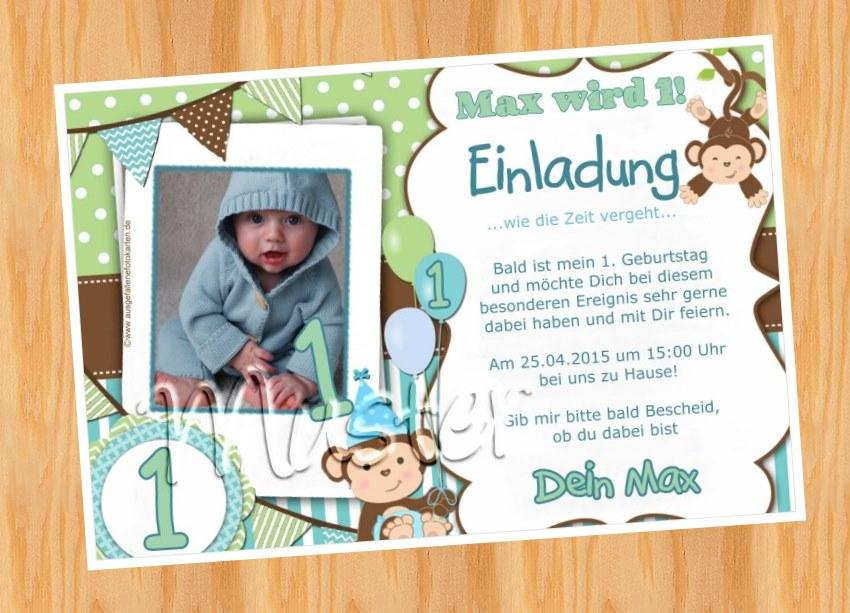 ausgefallene fotokarten: kindergeburtstag einladung muster, Einladungsentwurf