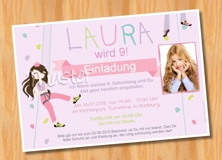 einladungskarten kindergeburtstag, Einladung