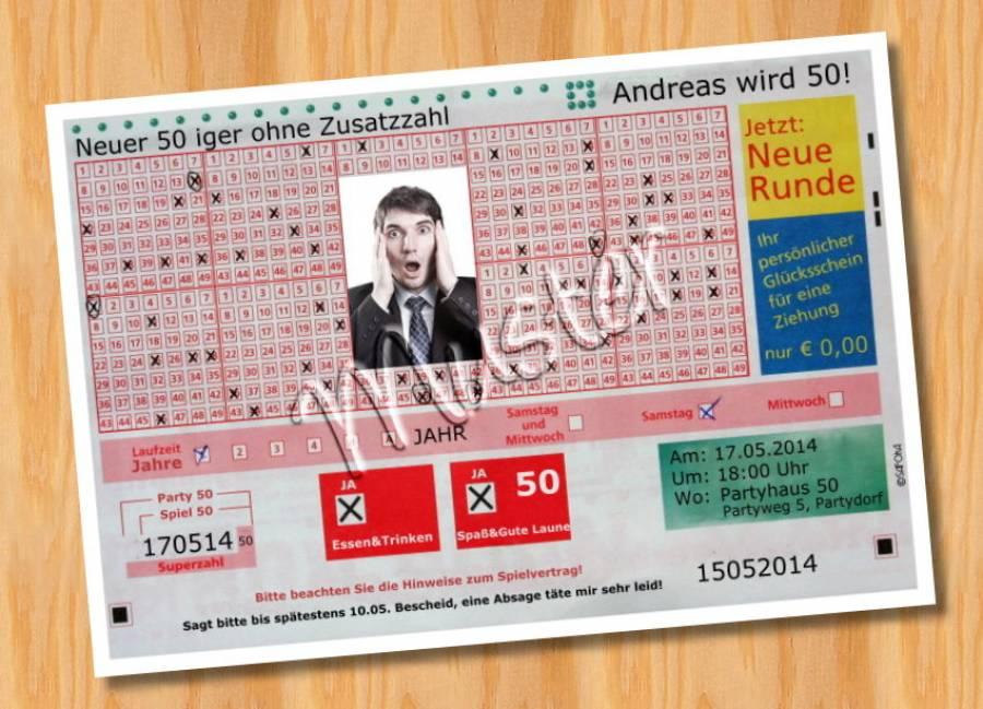 Lotto 60 Geburtstag