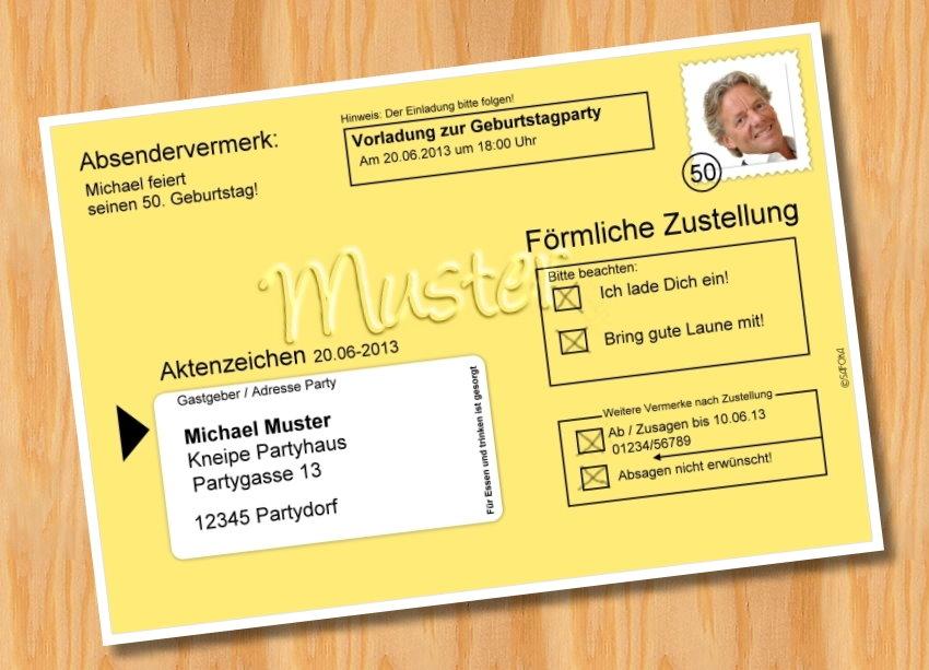 Fotokarten Einladung war beste einladung design