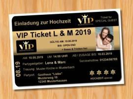 Ausgefallene Einladungskarten Einladungen Hochzeit 70 - Bild vergrößern