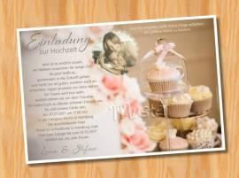 Einladungskarten Einladungen Hochzeit 54 - Bild vergrößern