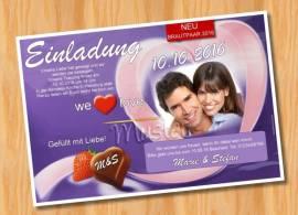 Ausgefallene Einladungskarten Hochzeit 47 - Bild vergrößern