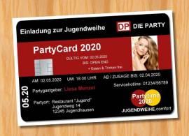 Einladung Einladungskarten Jugendweihe originelle 12 - Bild vergrößern