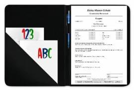 Zeugnissmappe Dokumentenmappe personalisiert Einhorn 6 - Bild vergrößern
